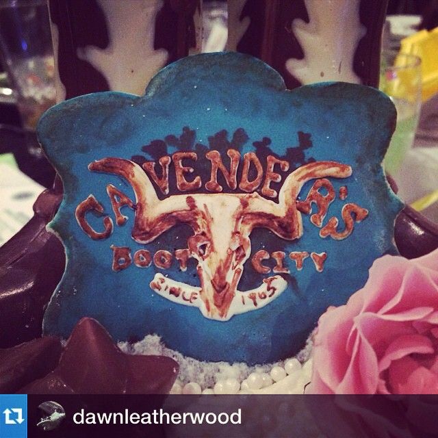 The best looking cookie we have ever laid eyes on. #cavenders #cookies #repost from @dawnleatherwood