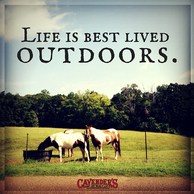 Double tap if you'll be spending this weekend #outdoors!