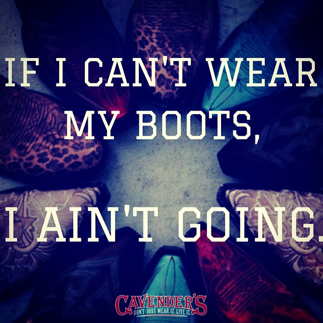 Double tap if you agree! #cavenders #getyourbootson