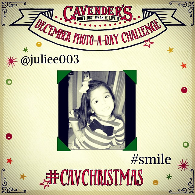 Congratulations to our first Photo-A-Day Challenge winner, @juliee03 of La Villa, TX with #smile. Keep entering for a chance to win next! #cavenders #photoadaychallenge #giftcardgiveaway