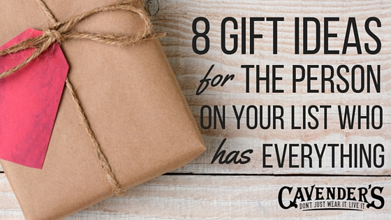 8 Gift Ideas For The Person On Your List Who Has