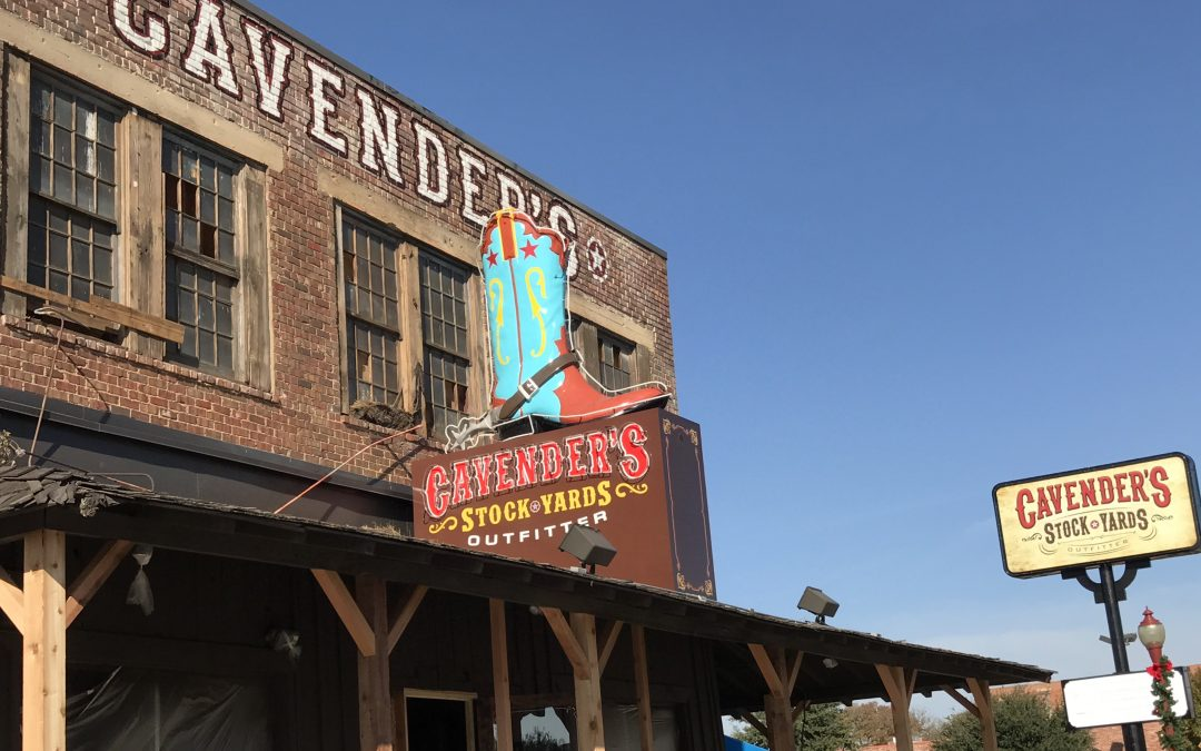 Cavender's Stock Yards Outfitter Now Open in the Historic Stockyards in Fort Worth, Texas!