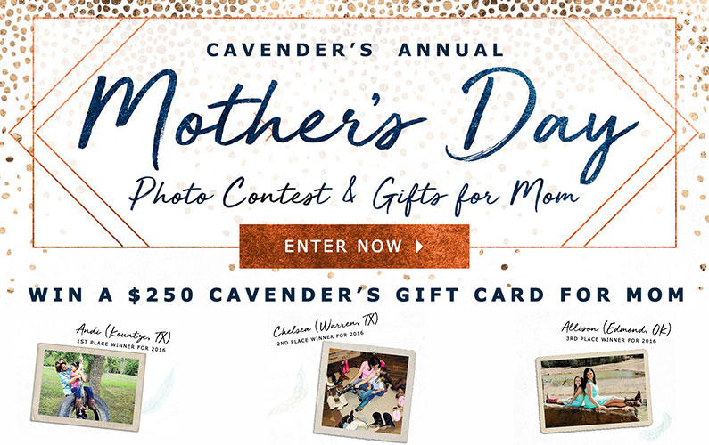 2017 Cavender's Mother's Day Photo Contest