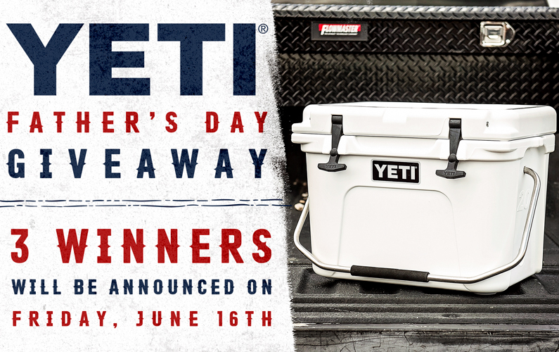 YETI Father's Day Giveaway 2017
