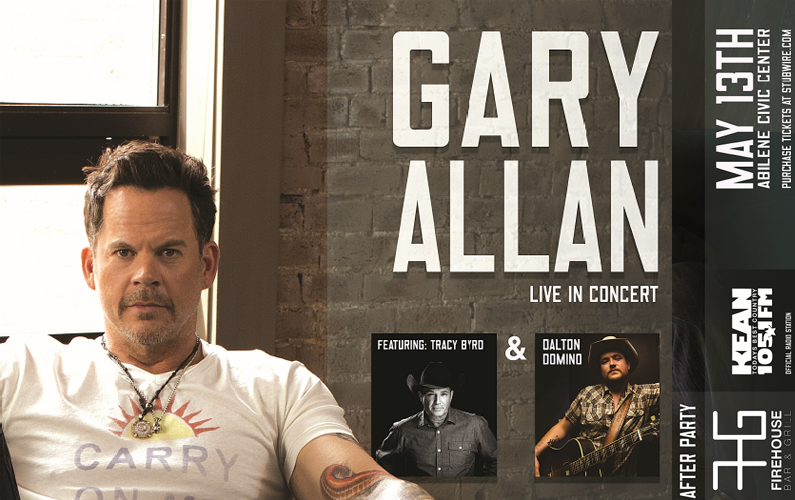 Gary Allen Ticket Giveaway 2017 – Abilene