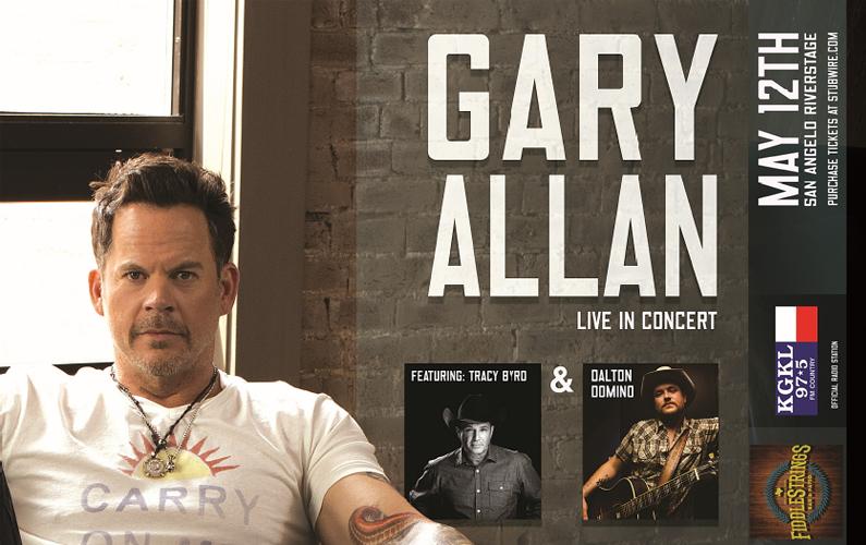 Gary Allen Ticket Giveaway 2017 – San Angelo