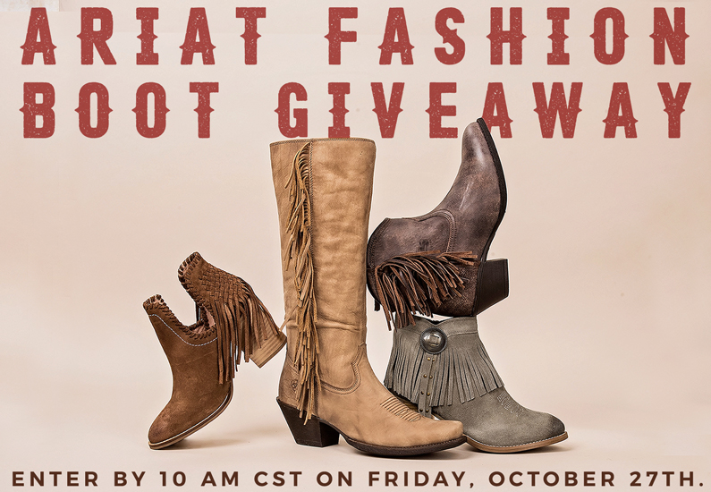 Cavender's Ariat Fashion Boot Giveaway