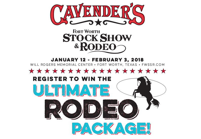 2018 Ultimate Rodeo Package Giveaway