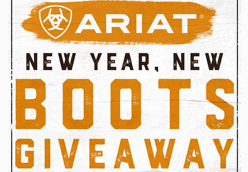 Ariat New Year, New Boots Giveaway