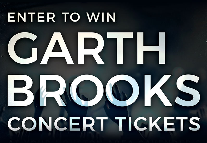 Houston Rodeo Garth Brooks Giveaway
