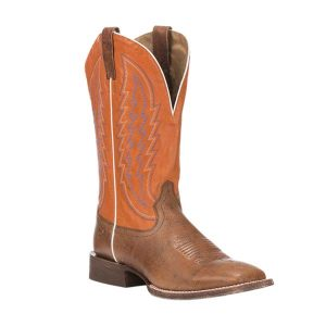 Ariat Men's Circuit Stride Tan with Firecracker Upper Western Square Toe Boots (AR0021718)